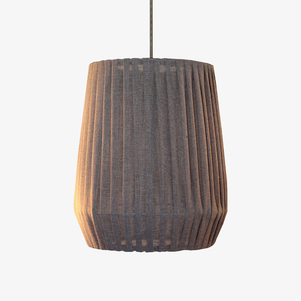 Tulip Pleated Pendant - CLM Home