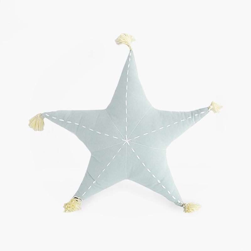 Sea Star Scatter with Tassels - Pistachio - CLM Home