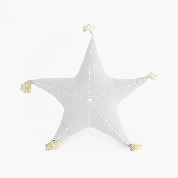 Sea Star Scatter with Tassels - Cloudy White - CLM Home