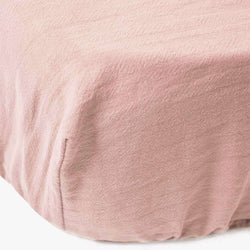 Signature Cot Fitted Sheet - Blush Pink - 132 X 66 SA Standard Cot - CLM Home