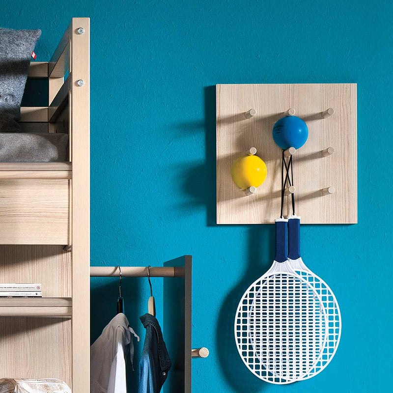 Spot Wall Shelf With Pegs - CLM Home