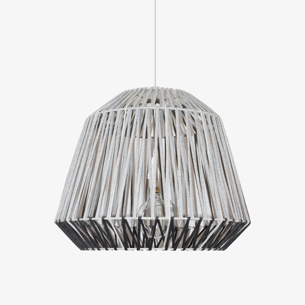 T-Yarn Short Bell Pendant - Grey - CLM Home