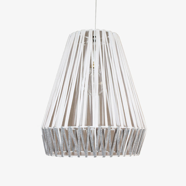 T-Yarn Tall Bell Pendant - Grey - CLM Home