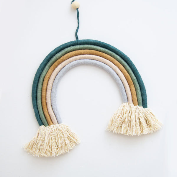 Large 5 Strand Rainbow - Teal - CLM Home