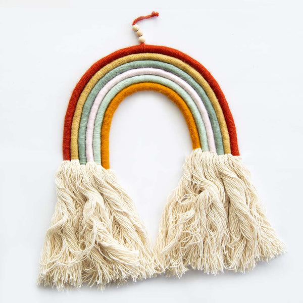 Large 6 Strand Rainbow With Long Tassels - CLM Home