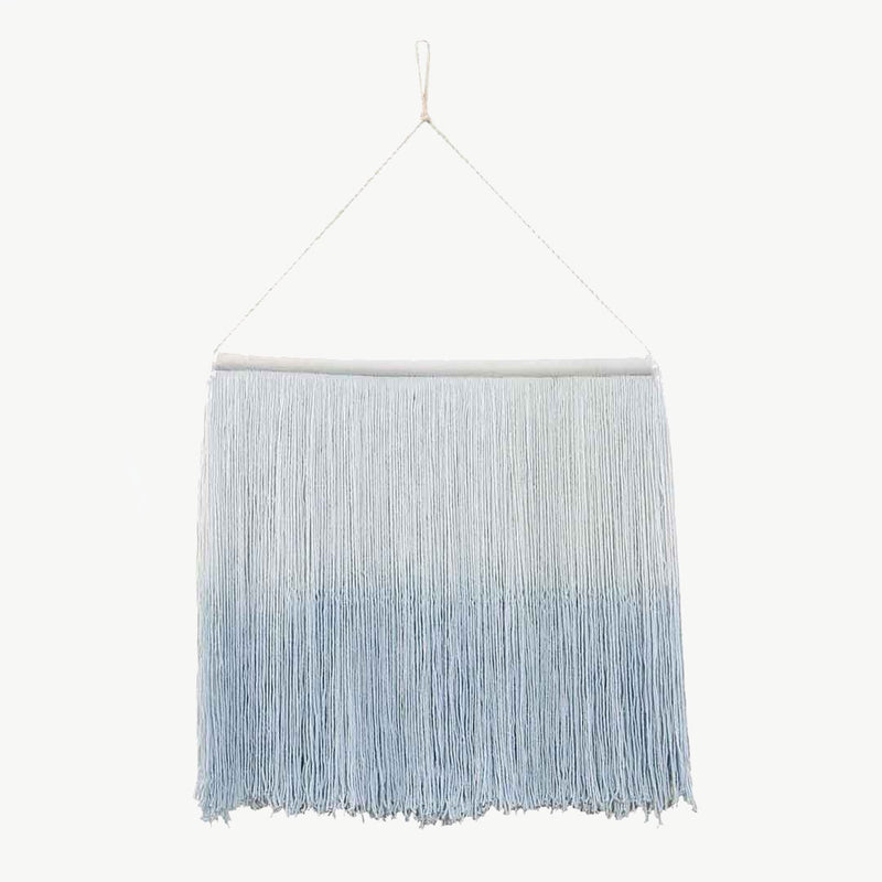 Tie-Dye Wall Hanging - Soft Blue - CLM Home