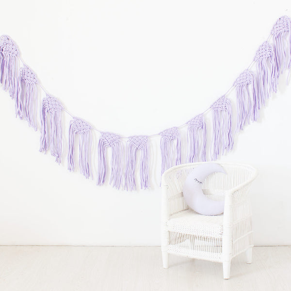 T-Shirt Bunting - Lilac - CLM Home