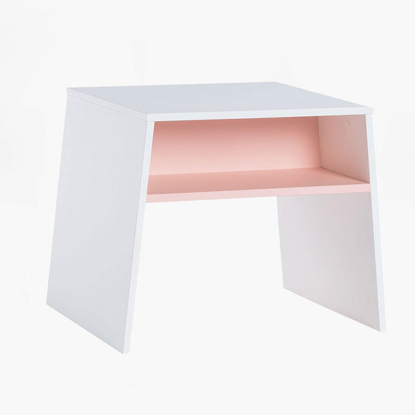 Tuli Toddler Table - White & Pink - CLM Home