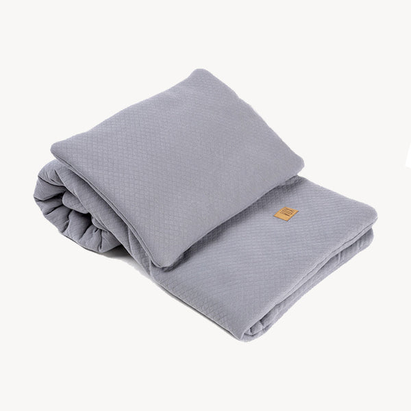 Baby Bedding Set 100X80 - Grey - CLM Home
