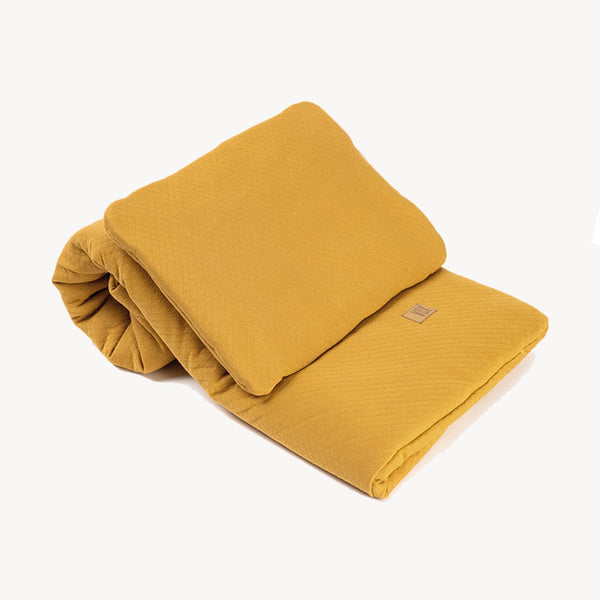Baby Bedding Set 100X80 - Mustard - CLM Home
