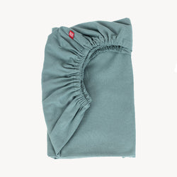 Cot Fitted Sheet 120X60 - Teal - CLM Home