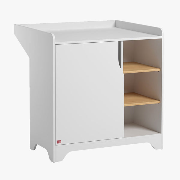 Leaf Dresser with changer - White - CLM Home