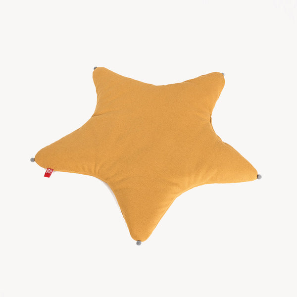 Star Baby Pillow - Mustard - CLM Home