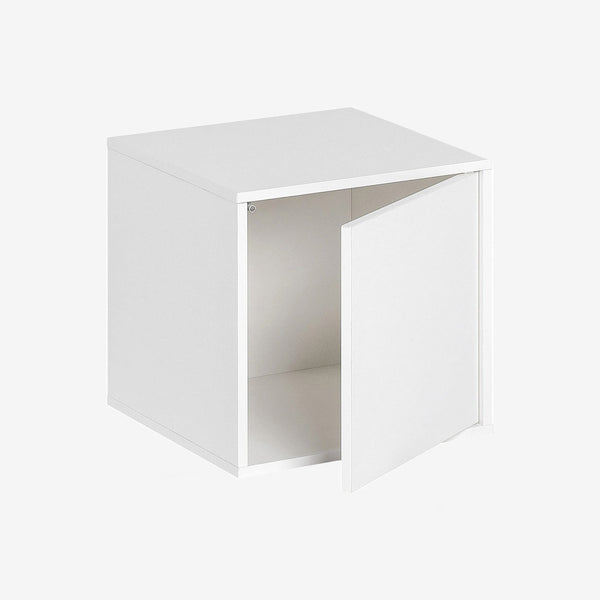 Balance Medium Box With Door - White - CLM Home