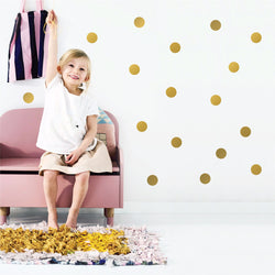 Wild Dots Decals - Gold - CLM Home