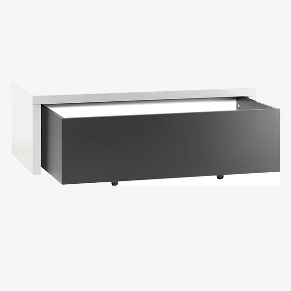 YU Reversible Drawer for Platform 53 - White/Black - CLM Home
