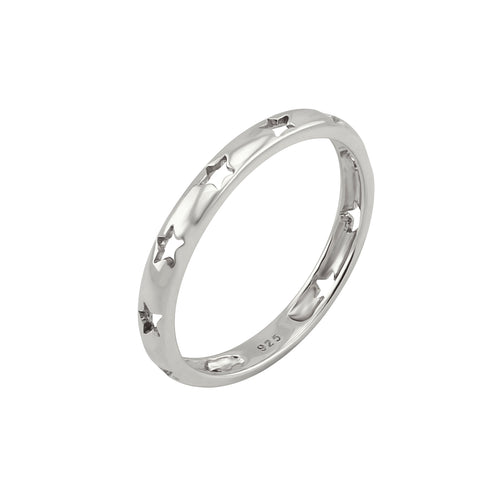Twinkle Starry Ring Silver