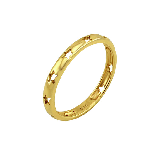 Twinkle Starry Ring Gold