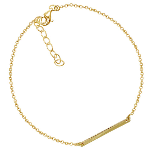 Sleek Bar Anklet