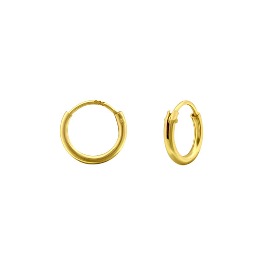 Mini Endless Hoop Earrings