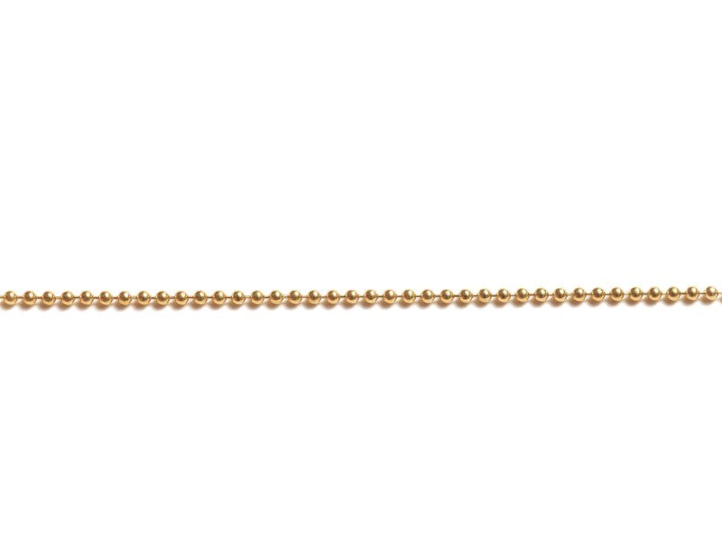 Golden Ball Chain Necklace