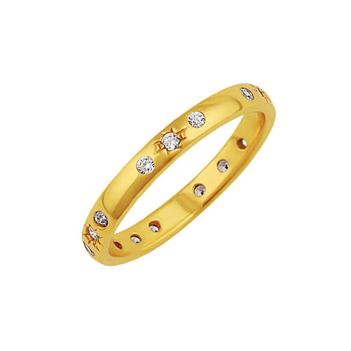 Starry Night Ring Gold