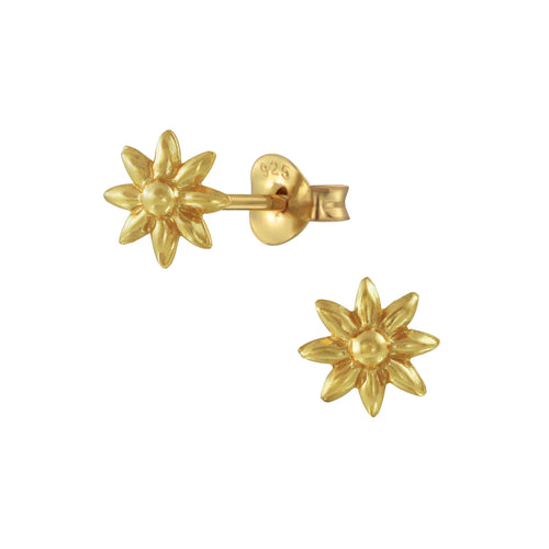 Petit Flower Stud Earrings