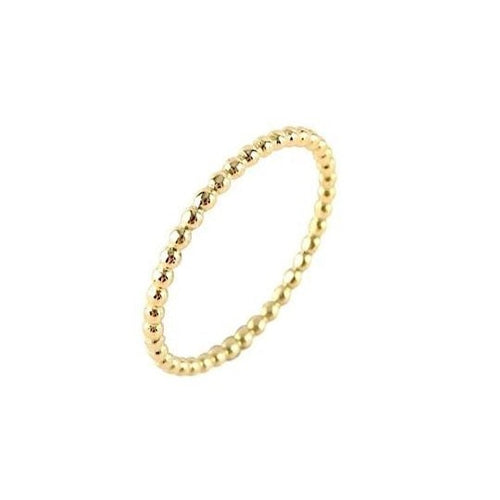 Bubble Ball Ring Gold