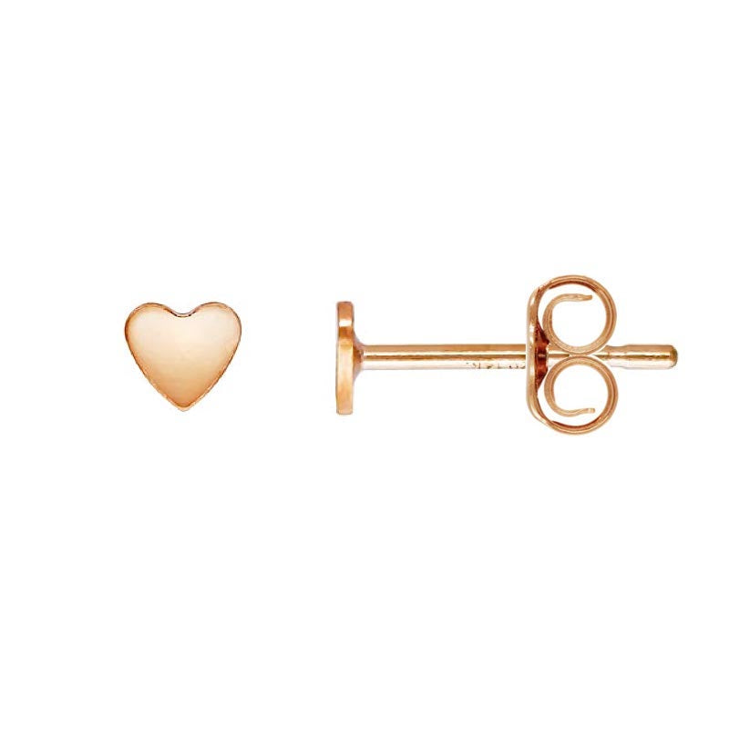 Baby Heart Stud Earrings