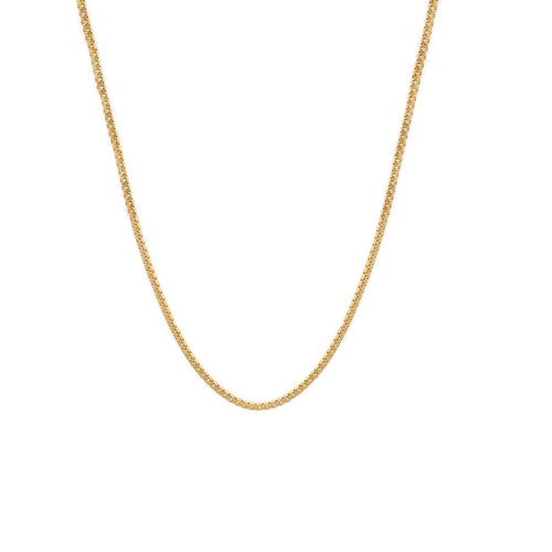 Dainty Box Chain Necklace