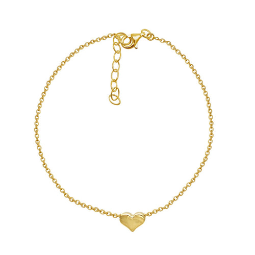 Petti Heart Anklet