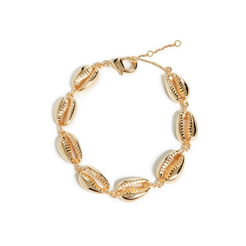Cowrie Shell Statement Bracelet