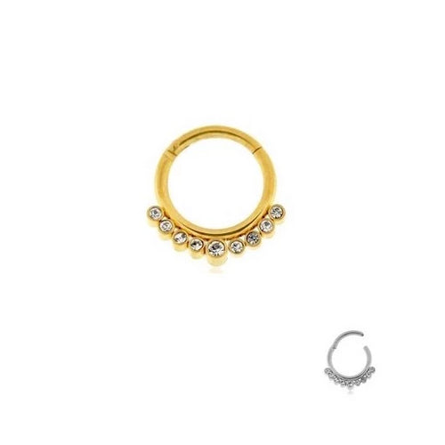 Jewel Clicker Ring