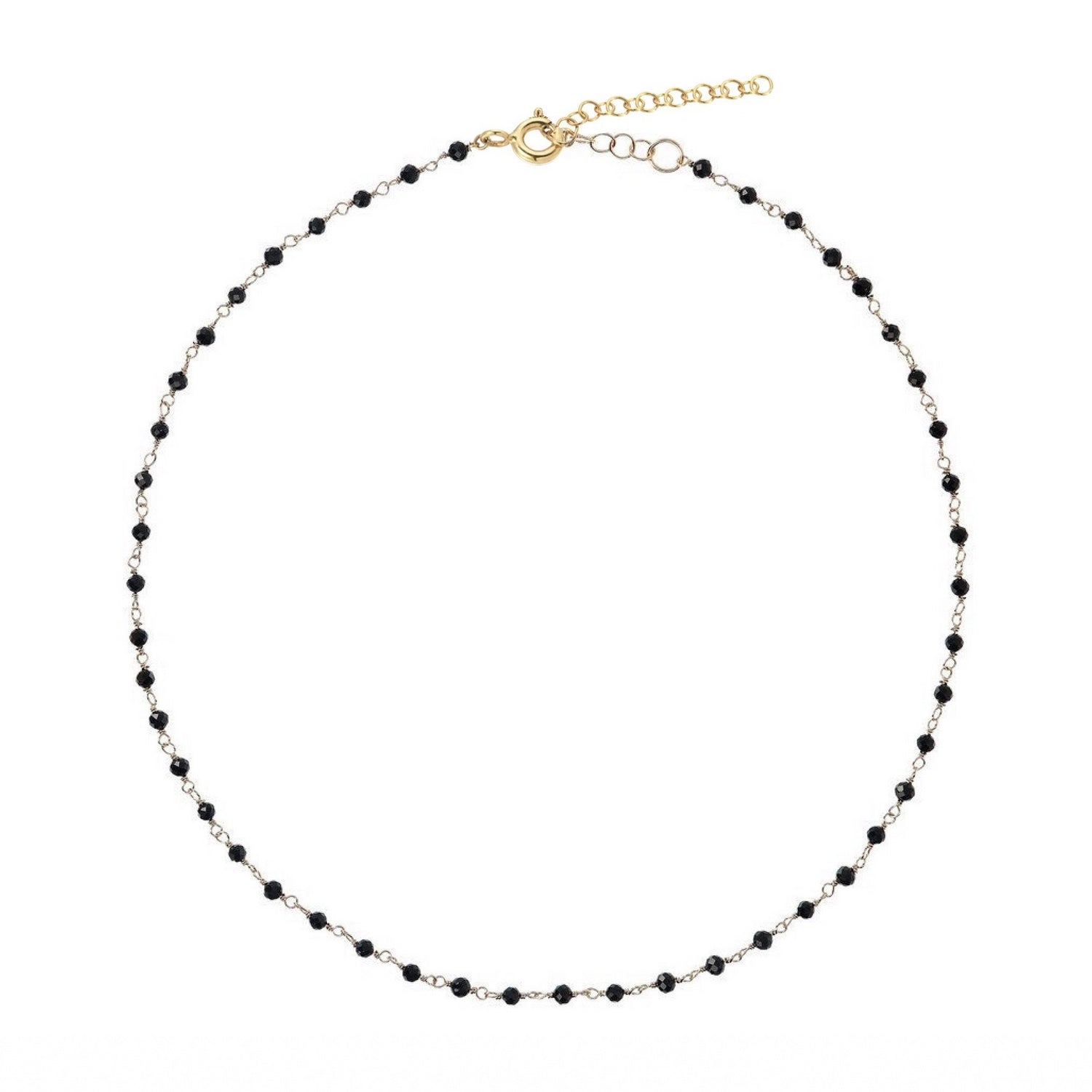 Black Spinel Choker