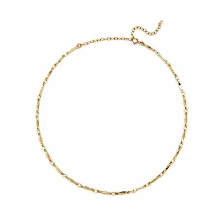 Tess Gold Chain Anklet