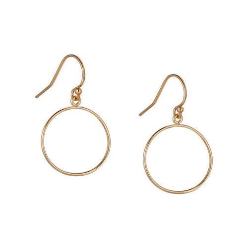 Karma Drop Earrings