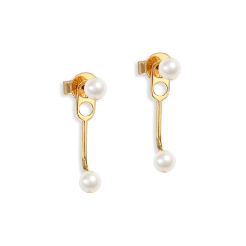 Mini Pearl Double Ear Jacket