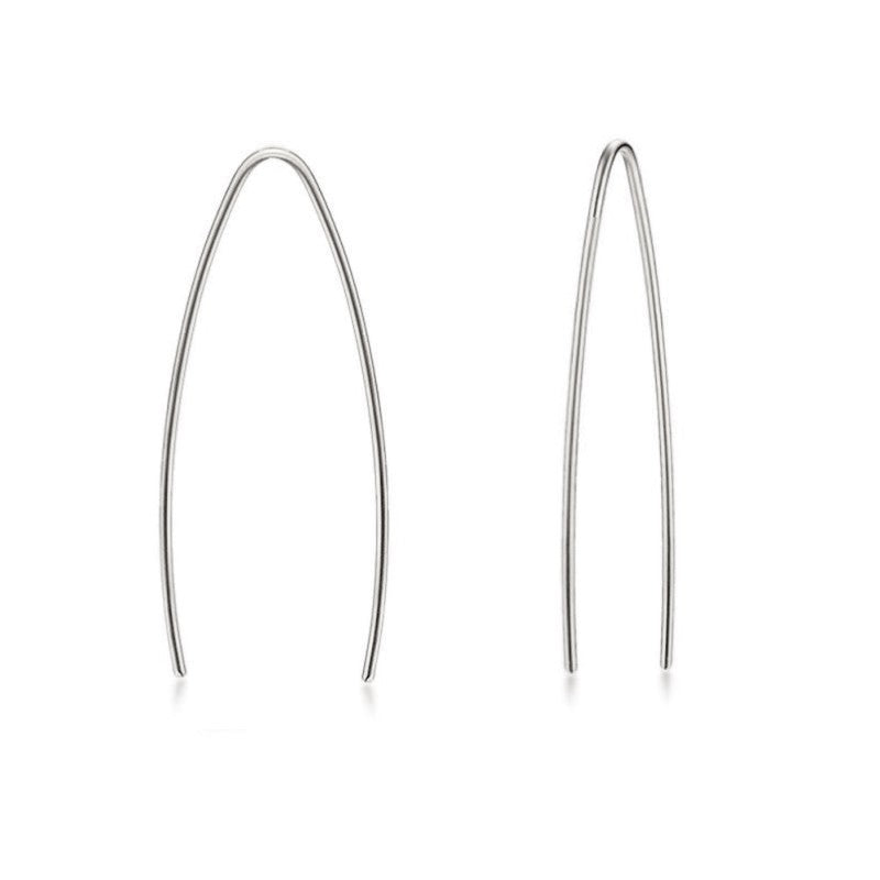 Arc Line Earrings