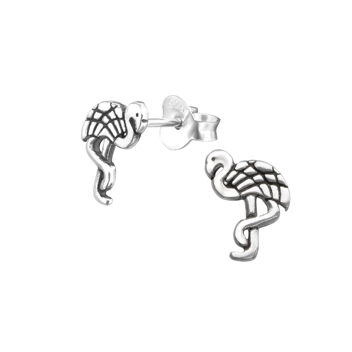 Flamingo Stud Earrings