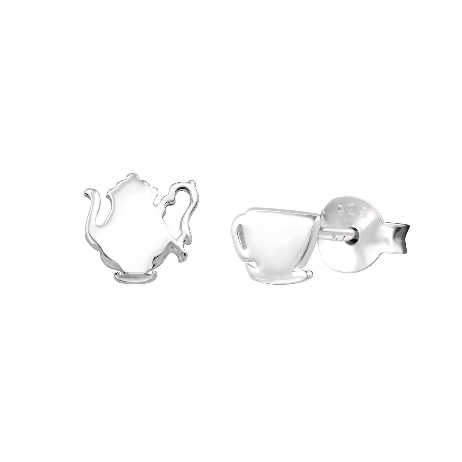 Tea Time Stud Earrings