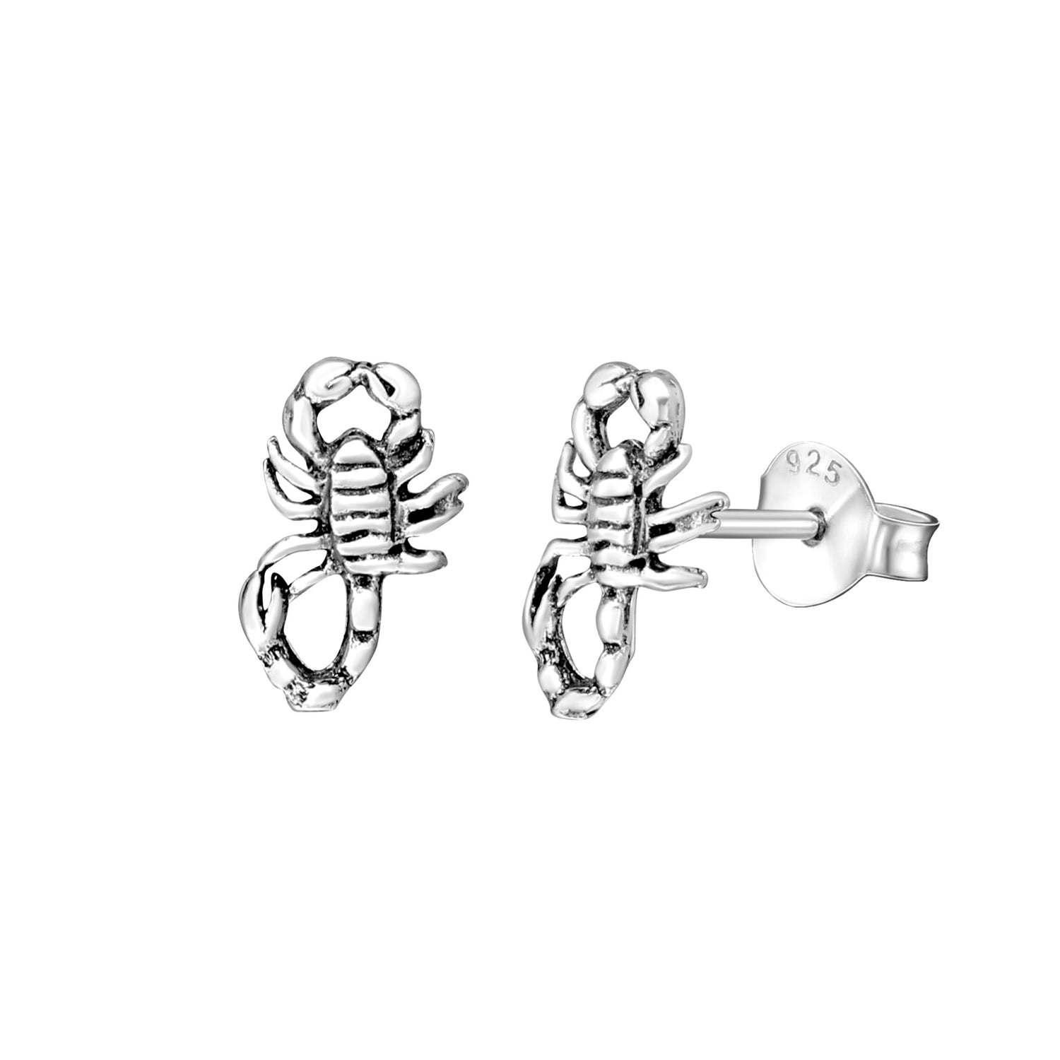 Scorpio Stud Earrings