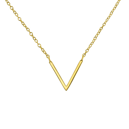 V Chevron Necklace