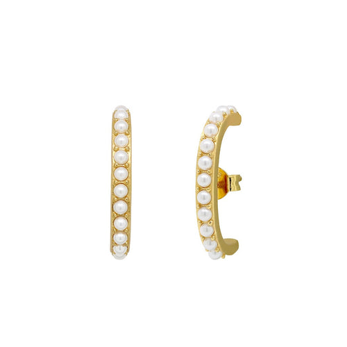 Pearl Suspender Earrings