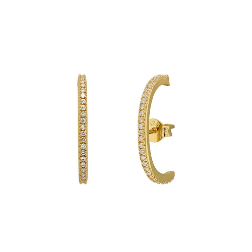 Luxe Pave Suspender Earrings