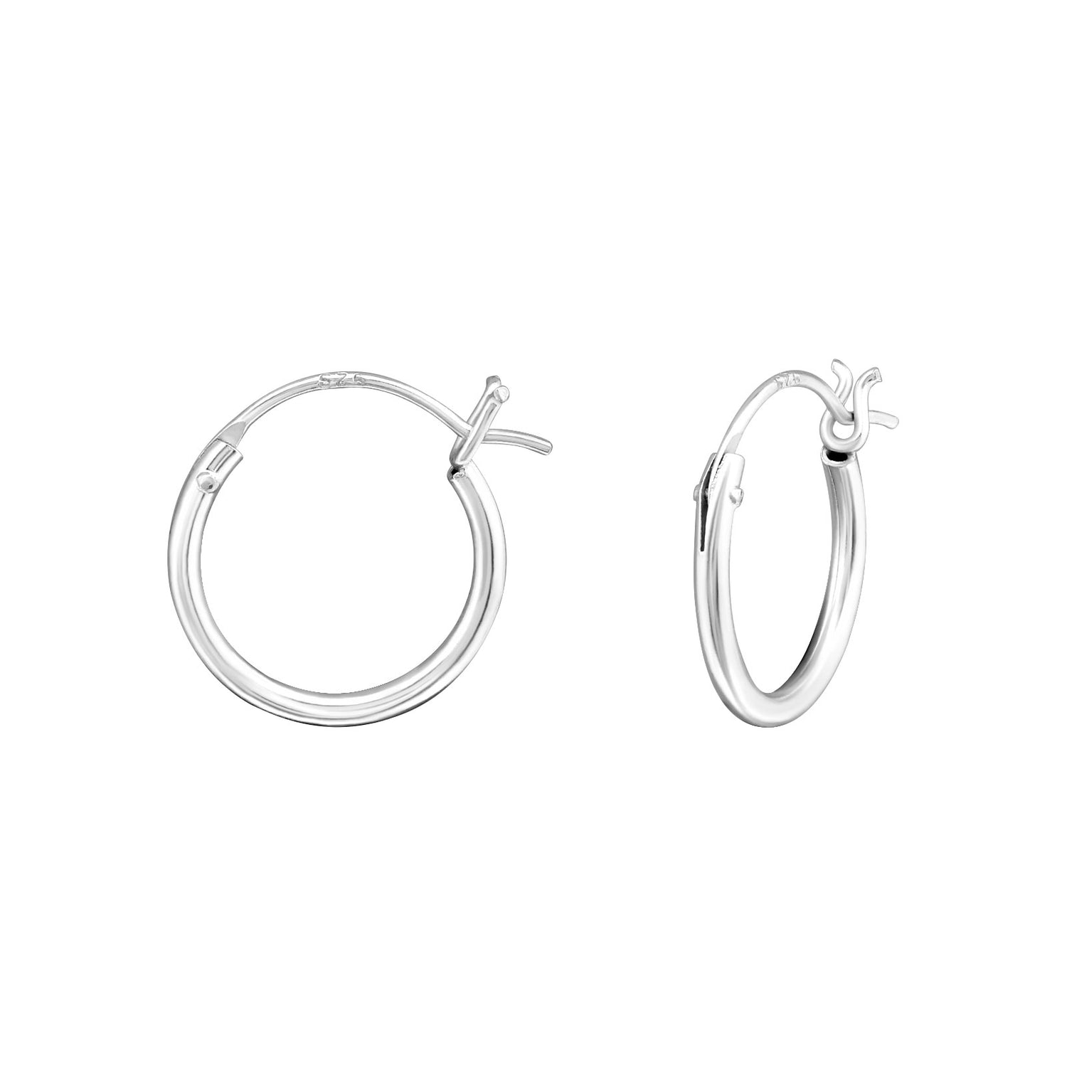 Tiny Timeless Hoop Earrings