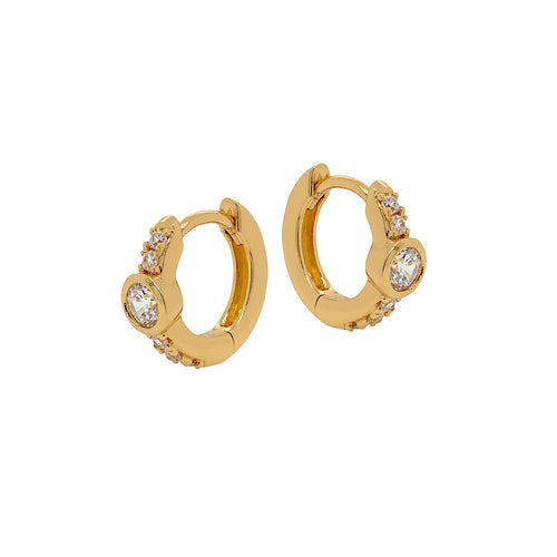 Altair Huggie Hoop Earrings
