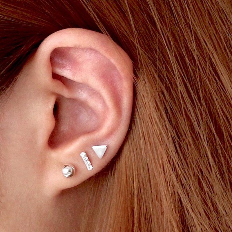 Cartilage Stud Earrings Set (Single)
