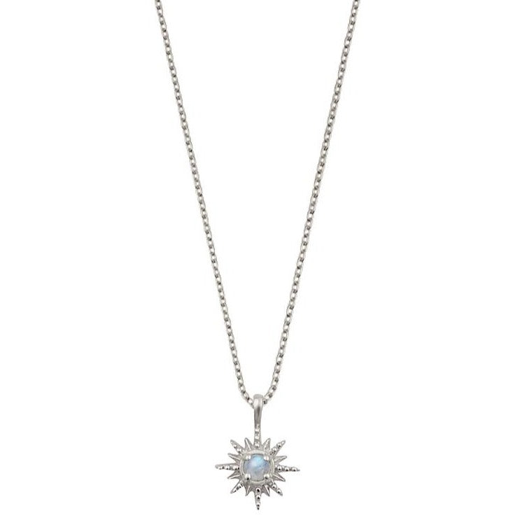 Starburst Moonstone Necklace