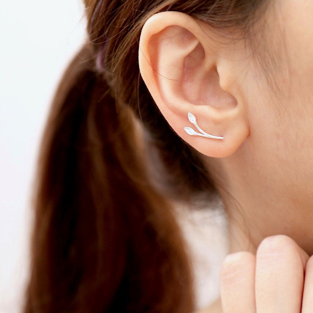 Lily Ear Climber Earrings