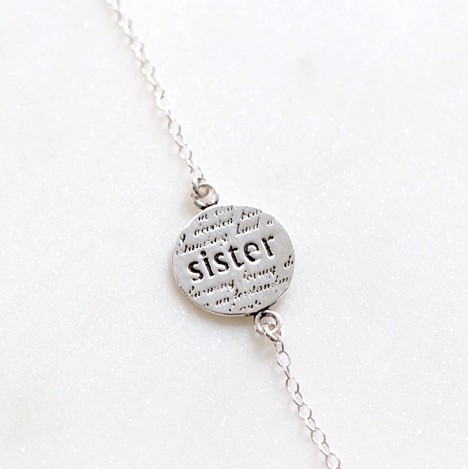 Sister Love Necklace